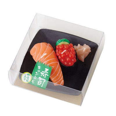 Sushi Candles : Japanese beauty and lifestyle products - ideal for Japanese gifts and lovers of cool Japanese gadgets!