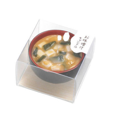 Miso Soup Candle : Japanese beauty and lifestyle products - ideal for Japanese gifts and lovers of cool Japanese gadgets!