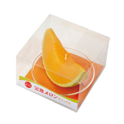 Melon Candle : Japanese beauty and lifestyle products - ideal for Japanese gifts and lovers of cool Japanese gadgets!