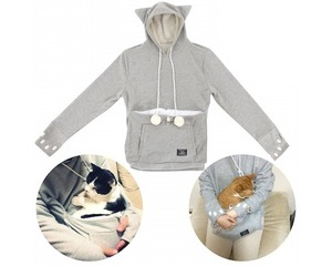 Cat Hoodie Pouch : Japanese beauty and lifestyle products - ideal for Japanese gifts and lovers of cool Japanese gadgets!