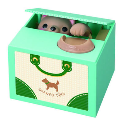 Dog Coin Bank 2 : Japanese beauty and lifestyle products - ideal for Japanese gifts and lovers of cool Japanese gadgets!